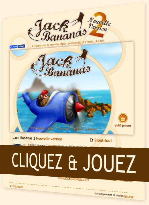 Jack Bananas le jeu vidéo